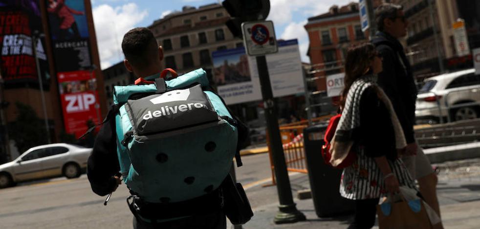 Detenido en Valladolid un repartidor de comida por una denuncia falsa para quedarse con la recaudación