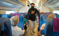 El Tren del Vino vuelve a conducir a los madrileños hasta las bodegas de Valladolid