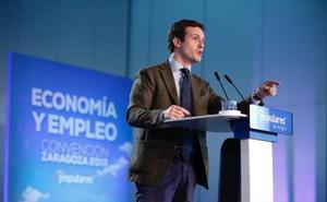 Casado reivindica al PP como partido de gobierno ante la bisoñez de Ciudadanos