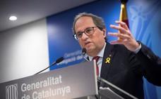 Torra y Puigdemont insisten en el acto de Bruselas a pesar del veto del Europarlamento
