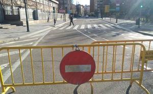 El centro de Valladolid permanece cerrado al tráfico hoy por la contaminación