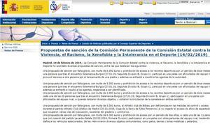 Dura propuesta de sanciones del CSD para los seguidores del Salamanca CF y del Burgos CF por las peleas previas al partido