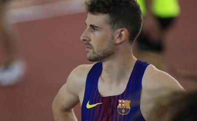 Álvaro de Arriba, subcampeón de España de 800 metros en Antequera