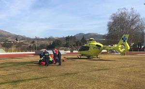 Rescatado un escalador herido tras sufrir una caída en las inmediaciones de La Covatilla