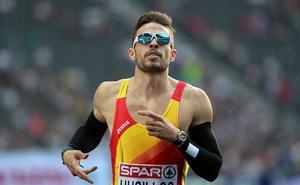 Óscar Husillos, campeón de España con una buena marca