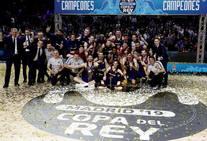 Final Copa del Rey Basket: El Barcelona campeón en imágenes
