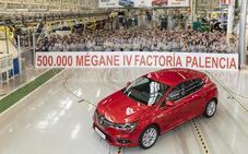 Renault Palencia alcanza el medio millón de Mégane IV en tres años