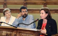 Los ediles María Sánchez y Alberto Bustos, a las primarias de Valladolid Toma la Palabra