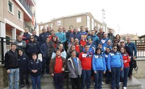 Recepción en Carbajosa a los participantes del Campeonato de pádel adaptado