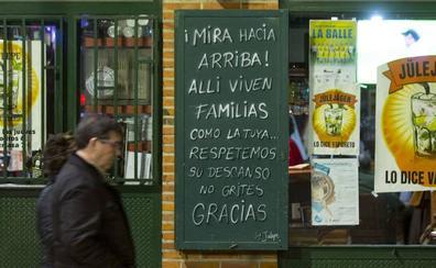 Una campaña concienciará en las zonas de copas de Valladolid sobre el respeto al descanso vecinal