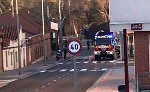 Una joven de Palencia da positivo en alcohol tras salirse de la vía y estrellar el coche contra una señal