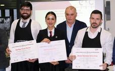 Mónica Rosón, II Premio Pascual Herrera al Mejor Sumiller del curso internacional de la Escuela de Cocina de Valladolid