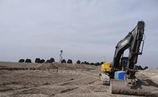 La obras del parque eólico sacan a relucir restos de la Edad de Bronce en Tordesillas