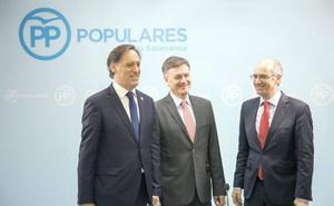 Vázquez asegura en Salamanca que el PP «no sale a pactar, sino a ganar y gobernar»