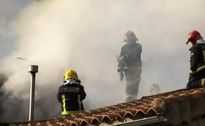 Fallece una mujer en un incendio en la localidad de Boadilla en Salamanca