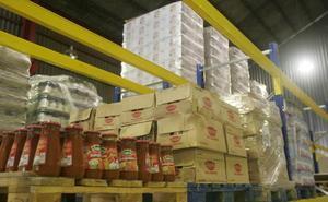 El programa de ayuda alimentaria distribuye en Zamora 182.000 kilos de comida a 2.605 personas
