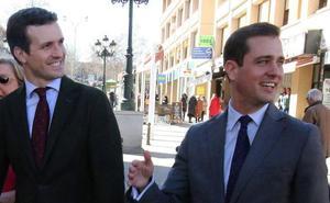 Pablo Casado advierte: votar a Vox en Segovia puede dar un escaño al PSOE o a Podemos