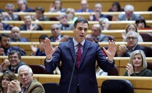 Sánchez afirma que la derecha y el independentismo se retroalimentan