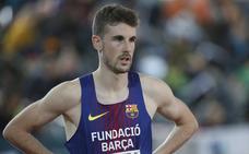 Álvaro de Arriba coge moral para el Europeo con su victoria en el Meeting de Dusseldorf con 1.46.63