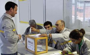 Diez mil empleados eligen a sus delegados sindicales en las plantas de Renault en Valladolid y Palencia
