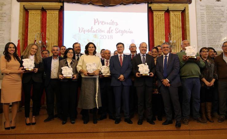 Prremios Diputación de Segovia 2018