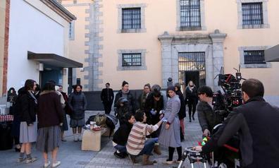 La cuarta temporada de 'Las chicas del cable' se rueda en la vieja cárcel de Segovia