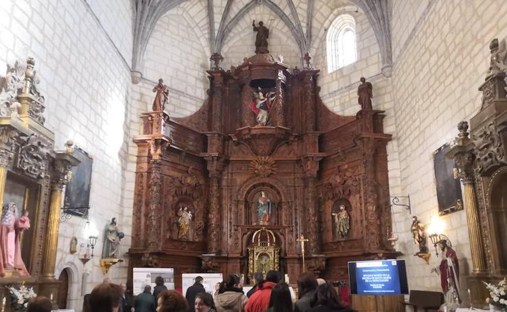 Restauración del retablo de Peñaflor de Hornija