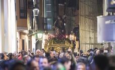Traslado del Nazareno por las calles de Valladolid