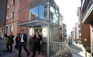 Valladolid se sube a los ascensores urbanos