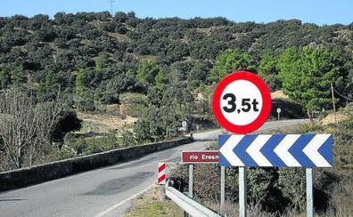La Diputación realizará reparaciones en el puente sobre el Eresma en Bernardos