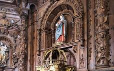 Peñaflor de Hornija vuelve a presumir de retablo