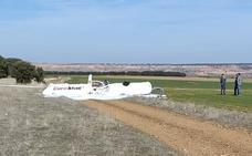 Dos fallecidos en Corral de Ayllón en el peor accidente aéreo en Segovia desde 2013