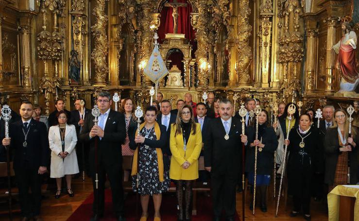 Vía Lucis de la Virgen del Rocio en la iglesia de San Sebastián en Segovia