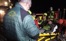 Rescatado en El Real Sitio un senderista que sufría «agotamiento extremo»