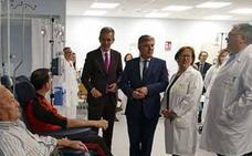 El hospital de día del Complejo Asistencial de Ávila atenderá a cuatro mil personas al año