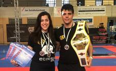 José Ricardo Huerta y Alicia Huerta se traen varias medallas del Top Ten Open 2019 de Alemania