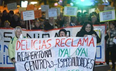 Delicias vuelve a la calle para exigir la reapertura de su centro médico