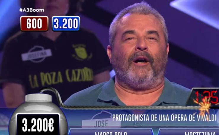 El paso de José Pinto por el programa '¡Boom!'