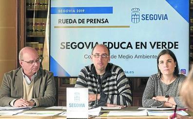 Cerca de 5.000 personas participan en el programa 'Segovia Educa en Verde'