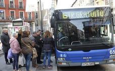Las restricciones vacían el centro de Valladolid y permiten su reapertura al descender la contaminación