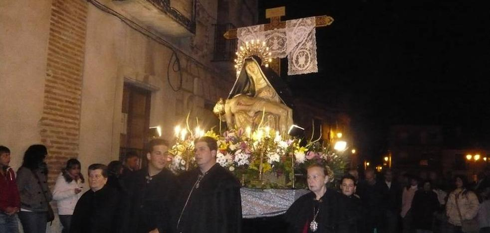 Una hermandad de Tordesillas saldrá sin música en Semana Santa por falta de cofrades