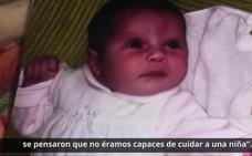 Nuria y Felipe, padres con discapacidad intelectual: «Somos capaces de cuidar a nuestra hija»