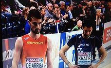 Álvaro de Arriba se mete con claridad en las semifinales del Europeo de Glasgow