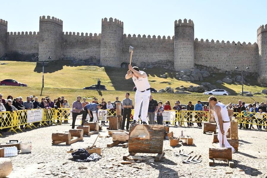 Los gabarreros de El Espinar inician su fiesta en Ávila