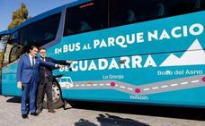 El nuevo autobús a Navacerrada realiza tres viajes de ida y vuelta los fines de semana y festivos