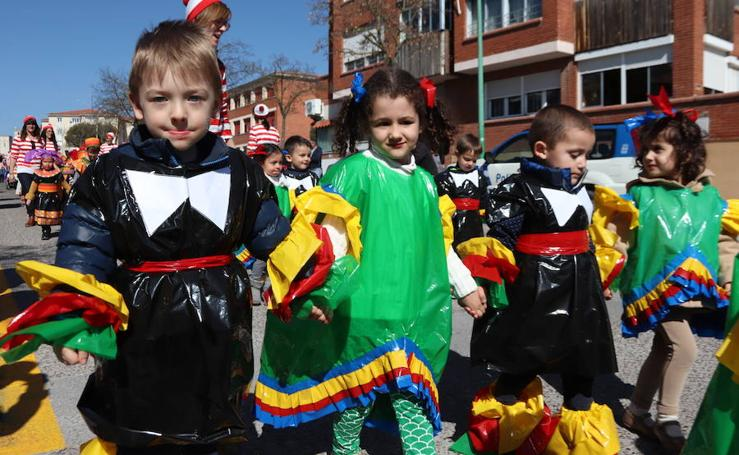 Desfile infantil de Carnaval en Cuéllar