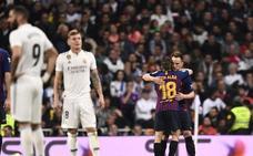 El Barça sentencia a un Madrid impotente