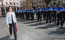 Calma tensa en la fiesta de la Policía Local de Segovia