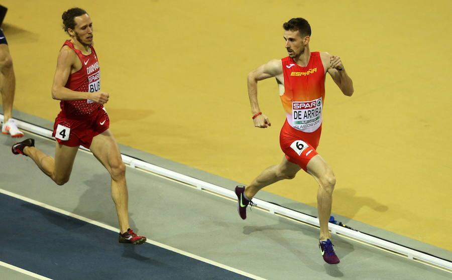 Álvaro de Arriba , campeón de Europa de 800 en Glasgow