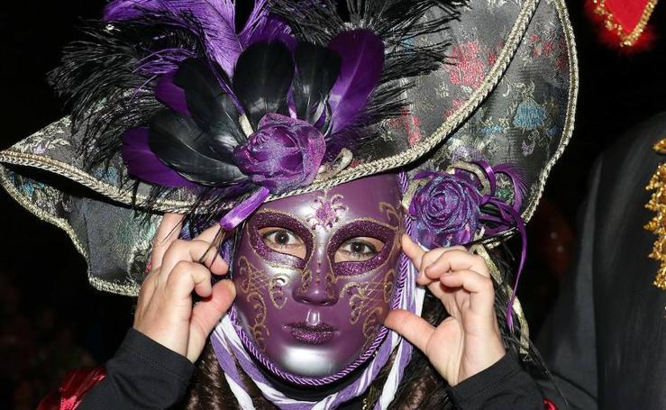 Fiesta de carnaval en LAVA de Valladolid